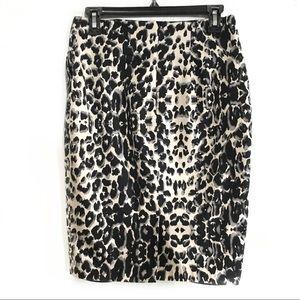 Animal print pencil skirt 6